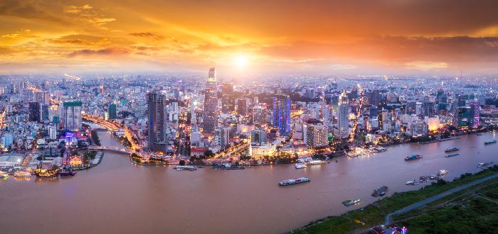 Ciudades de Vietnam Ho Chi Minh