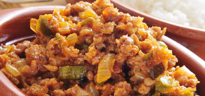Comida Cubana Picadillo a la criolla