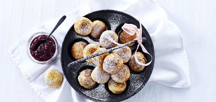 Comida Típica de Dinamarca   Æbleskiver