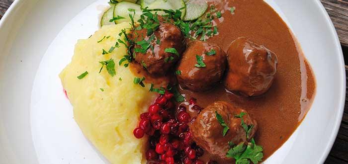 Comida típica de Suecia | Köttbullar