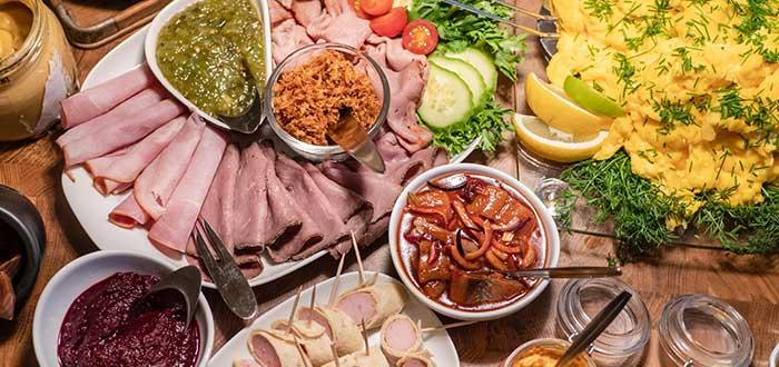Comida Típica de Suecia | Smörgåsbord