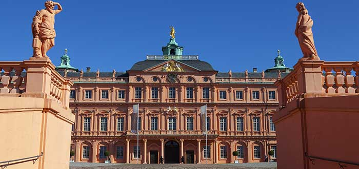 Qué ver en Baden-Baden   Palacio de Rastatt