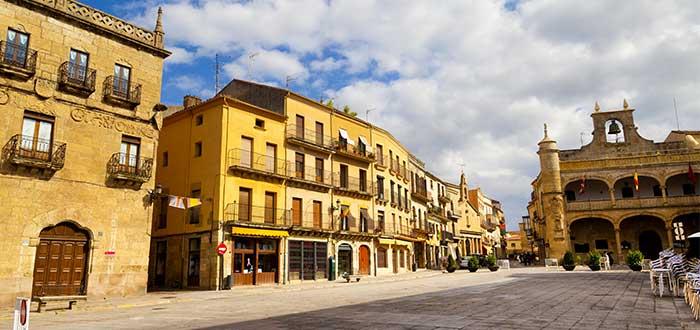 Qué ver en Ciudad Rodrigo   Plaza mayor de Ciudad Rodrigo