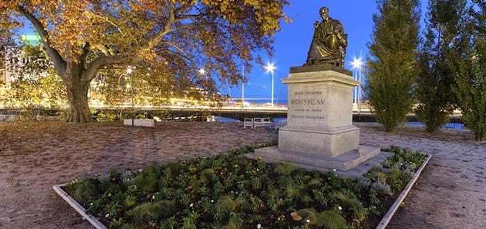 Qué ver en Ginebra | Isla Rousseau
