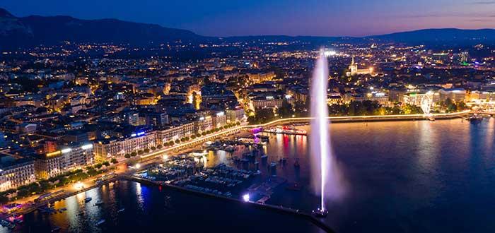 Qué ver en Ginebra | Jet d'Eau