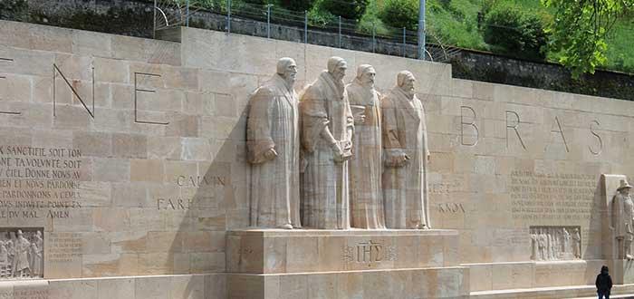 Qué ver en Ginebra | Muro de los Reformadores