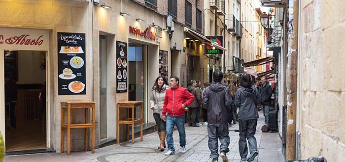 Qué ver en Logroño   Calle Laurel