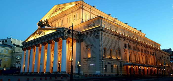 Qué ver en Moscú | Teatro Bolshói