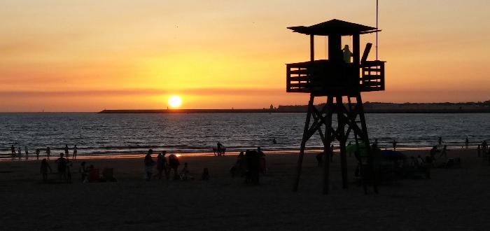 Qué ver en el Puerto de Santa María | Playa de Valdelagrana
