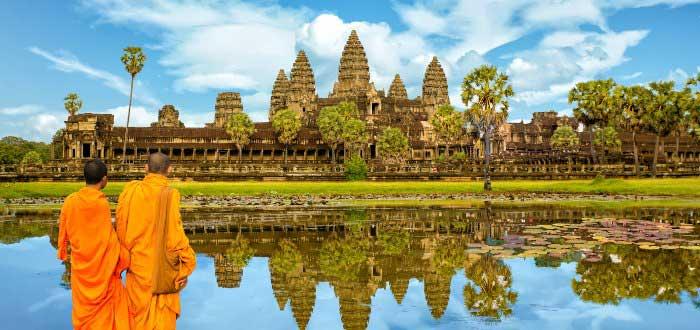 Lugares históricos: Camboya
