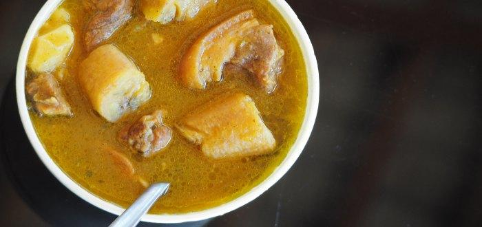 Comida típica de República Dominicana: el sancocho.