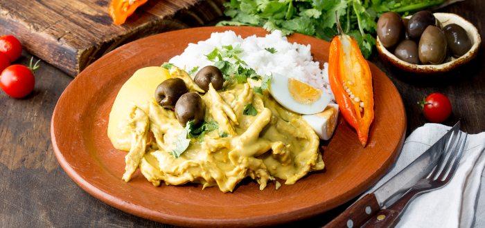 Comida típica de Perú | Ají de Gallina
