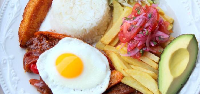 Comida típica de Ecuador| Churrasco ecuatoriano