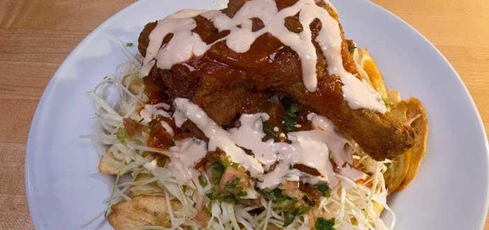 Comida hondureña | Pollo chuco