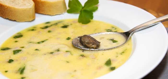 Comida hondureña | Sopa de caracol