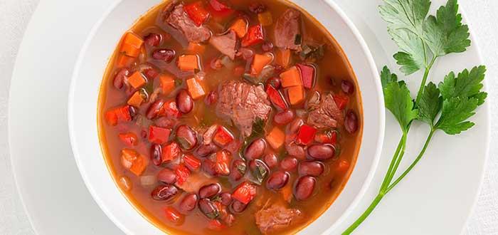 Comida hondureña | Sopa de fríjoles