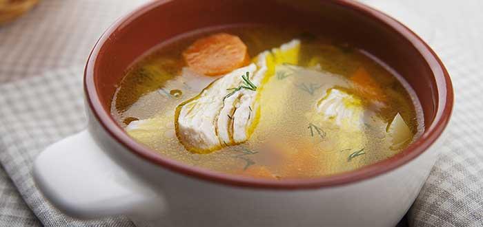 Comida hondureña | Sopa de gallina