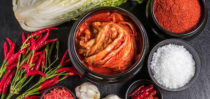 Comida típica de Corea del Sur   Kimchi