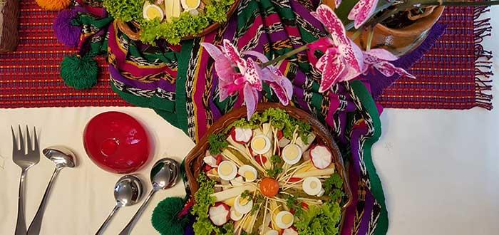 Comida típica de Guatemala | Fiambre