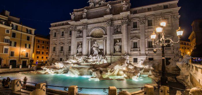 Qué ver en Italia, Fontana de Trevi