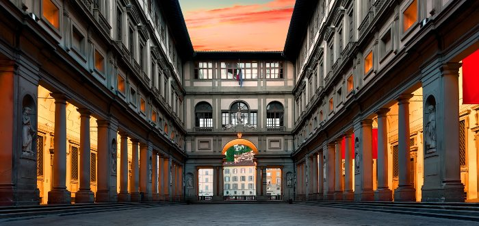 Qué ver en Italia, Galería Degli Uffizi