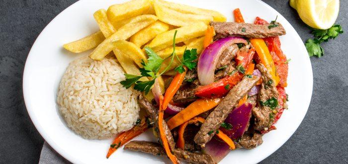 Comida típica de Perú | Lomo Saltado