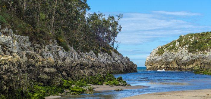 Qué ver en Ribadesella, Playa de Guadamía