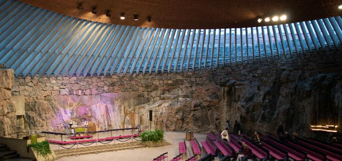 Qué ver en Helsinki | Iglesia de Piedra