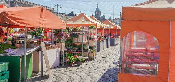 Qué ver en Helsinki | Plaza del Mercado de Helsinki