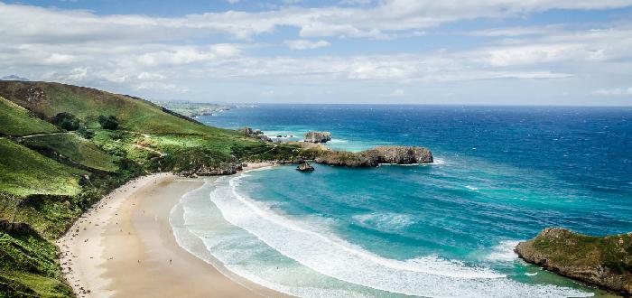 Qué ver en Llanes   Playa de Torimbia