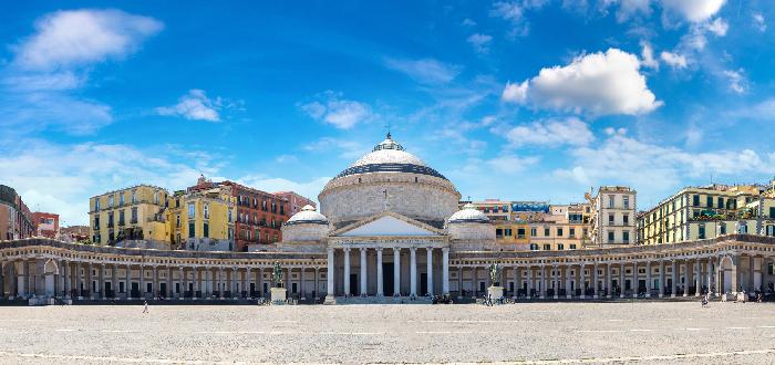 Qué ver en Nápoles | Plaza del Plebiscito