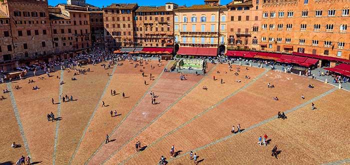 Qué ver en Siena | Piazza del Campo
