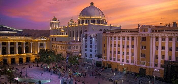 Ciudades de El Salvador: San Salvador.