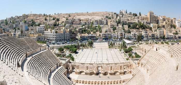 Qué ver en Jordania, Teatro Romano de Amán