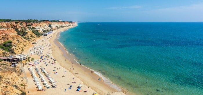 Qué ver en ALbufeira: Playa de Falesia.