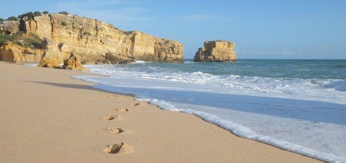 Playa de São Rafael.