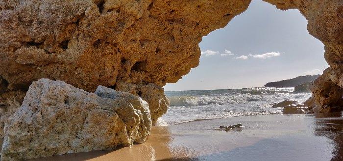 Qué ver en Albufeira: Playa de Galé.