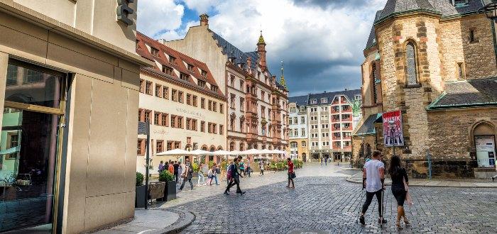 Ciudades de Alemania: Leipzig.