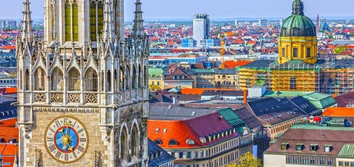 Ciudades de Alemania: Múnich.