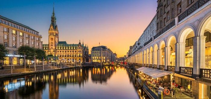 Ciudades de Alemania: Hamburgo.