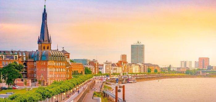 Ciudades de Alemania: Düsseldorf.