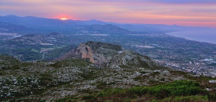 Qué ver en Denia: Parque Natural del Montgó.