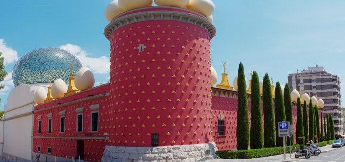 Qué ver en Figueres: Fundación Gala-Salvador Dalí.