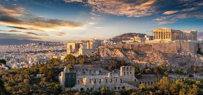 Ciudades de Grecia: Atenas.