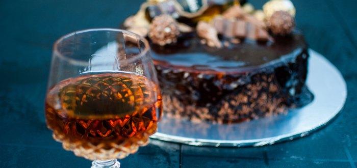 Comida típica de Irlanda: Tarta de chocolate al Whisky