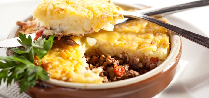 Comida típica de Irlanda: Cottage pie