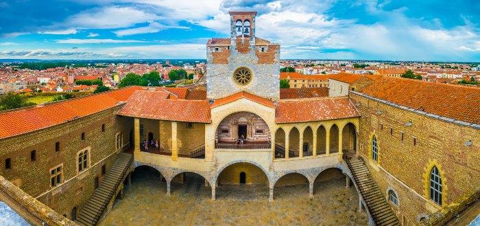 Palacio de los Reyes de Mallorca.