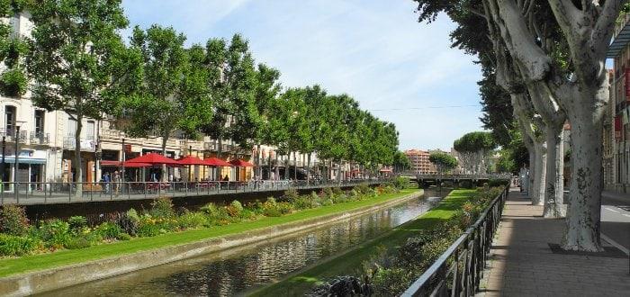Qué ver en Perpiñán: El río Tet.