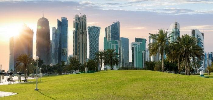 Ciudades de Qatar: