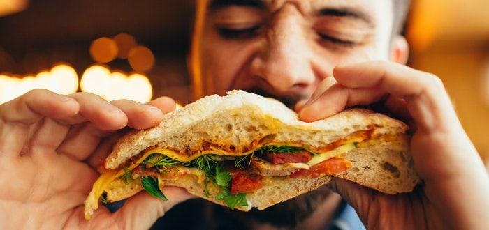 Comida típica de Uruguay: sándwich olímpico